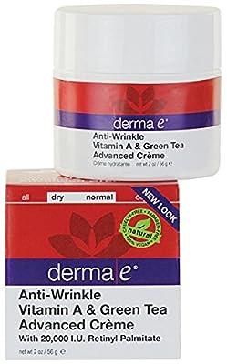 Derma E - Retinol & Green Tea Advanced Renewal Creme 2 oz cream by Derma E