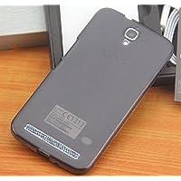 Prevoa ® 丨 Umi Emax Funda - Transparent Silicona TPU Funda Cover Case para Umi Emax 5,5 Pulgadas Smartphone - Negro