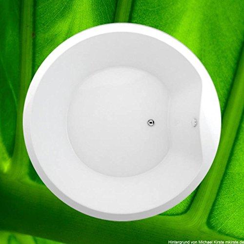 Preisvergleich Produktbild Badewanne 175 cm SPACE - Acryl RUND