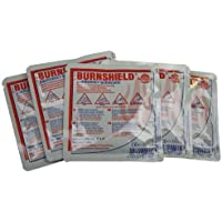 Pack of 5 Burnshield Emergency Burncare Dressing 10x10cm by EVAQ8