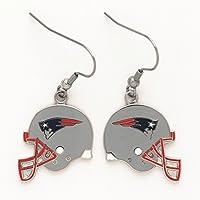 New England Patriots Helmet Ohrringe baumeln