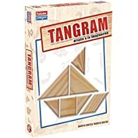 Falomir 646484 - Juego Tangram Madera