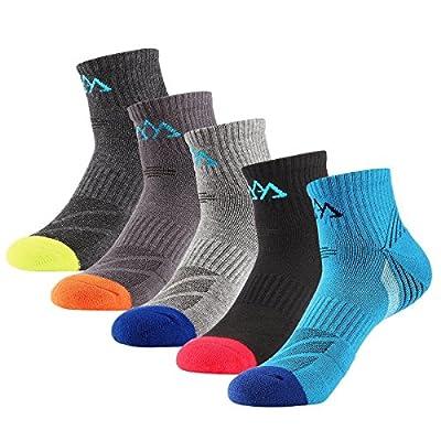 5 Wanderer Pakete Socken Mid Kissen Low Socken Multi Camping Ausflüge Leistung für den Frühling Sommer