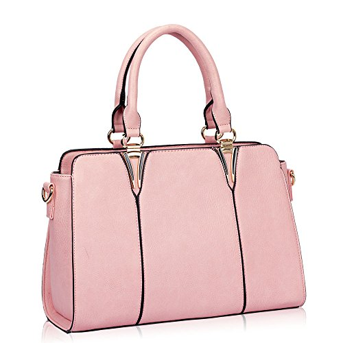 HB Style - Borsa sacchetto stile lusso Ragazza donna Pink