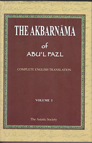 The Akbarnama of Abul Fazal vol 1 [Hardcover] [Jan 01, 2010] H. Beveridge