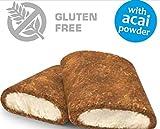 Maxsport Nutrition Protein Cake Proteinriegel, Glutenfrei Protein riegel Protein snack, Ideal für Sportler, oder zum Kaffee oder Tee, Original Protein produkt, höhe balaststoffe und Eiweiß - 20 Stück - Milch