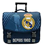 Real Madrid Cartable à roulettes Collection Officielle