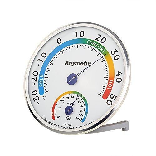 Thermo-Hygrometer Raumklimakontrolle mit Hohe Präzision zur Überprüfung von Temperatur und Luftfeuchtigkeit für ein gesundes Wohnklima