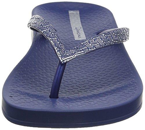 Ipanema Mesh II, Sandales Plateforme Femme Blue (Navy/Silver)