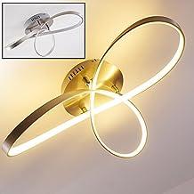 LED Lámpara de techo Arlena, 1 x 40W por 3200 Lumens, 3000 Kelvin (luz blanca cálida)