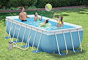 piscine tubulaire intex prism frame 4m x 2m x 1m amazon