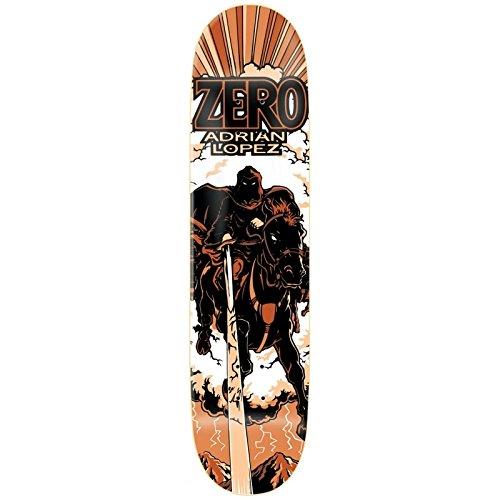 Zero Lopez Horseman R7Tablett Skateboard-Unisex Erwachsene, Mehrfarbig
