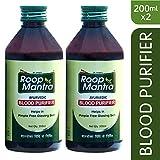 Roop Mantra Ayurvedic Blood Purifier, 200 ml (Pack of 2)