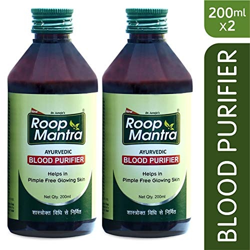 Roop Mantra Ayurvedic Blood Purifier, 200 ml (Pack of 2)