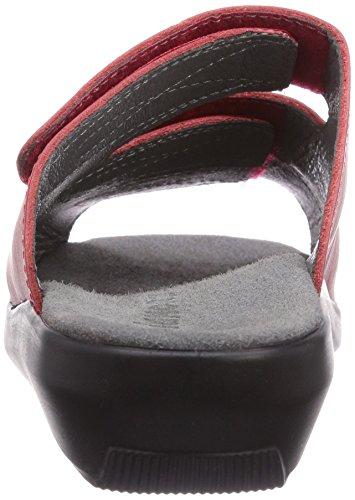 Gevavi - 3202 Bighorn Slipper Rot #36, Zoccolo da donna Rosso (Rot  (rot (rood) 03))