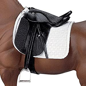 Stoneleigh II Dressage Saddle - Black
