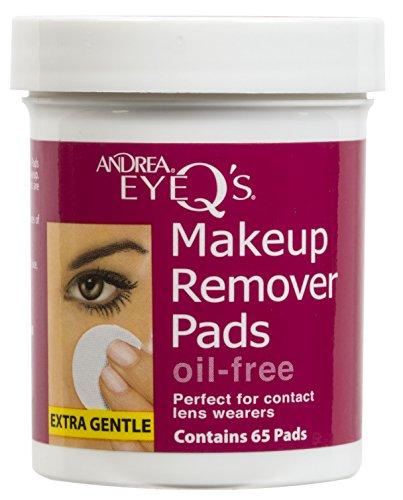 Andrea Eye Q'S Disques démaquillants pour les yeux Sans huile (Pot de 65)