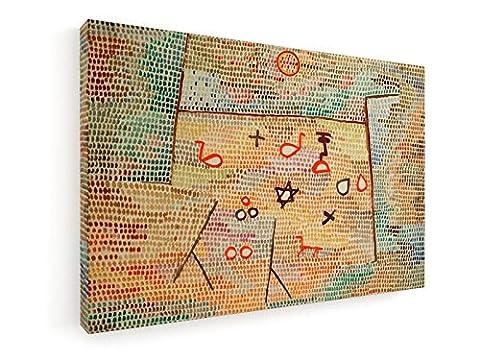 Paul Klee - Spielzeug (Toy) - 1931 - 60x40 cm - Leinwandbild auf Keilrahmen - Wand-Bild - Kunst, Gemälde, Foto auf Leinwand - Alte Meister / Museum