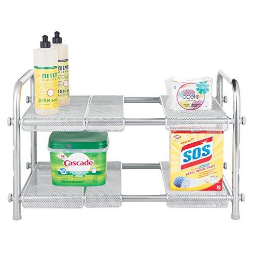 mDesign Küchen Organizer – Küchenregal für Arbeitsplatte, Spüle und Küchenschränke –...