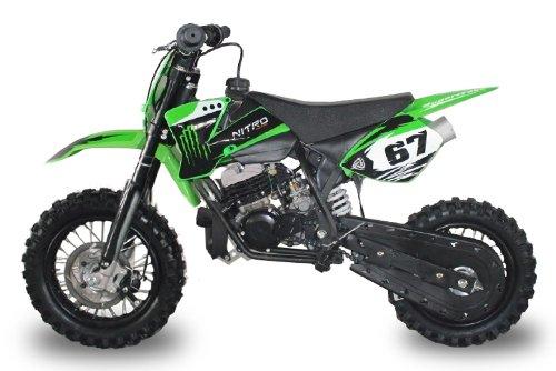 Dirtbike NRG50 12/10 49cc 9PS Crossbike Enduro Pocketbike