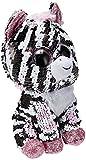Ty Flippables TY36672 - Peluche a Forma di Zebra, 15 cm, Multicolore