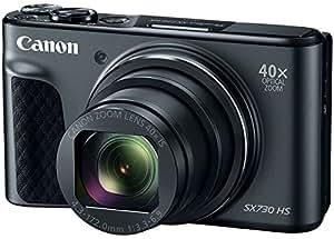 Canon PowerShot SX730 HS (Black) 20MP Digital Camera with 40x Optical Zoom + Memory Card + Camera Case