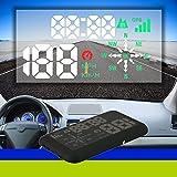KKmoon Coche HUD, Universal Head Up Display GPS KM / h & MPH Exceso Velocidad Advertencia Parabrisas Sistema de Proyectos