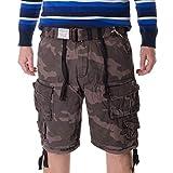 Surplus Division Shorts XXL Schwarz Camouflage