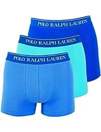 Polo Ralph Lauren Homme Shorts de 3 Lot, Classic Slip, unicolore - Bleu/Turquoise