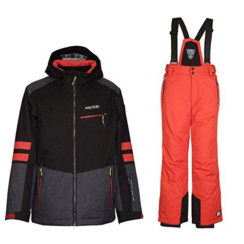 Killtec Uscan Jr – Ski Set Kinder Skianzug/Schneeanzug, Kinder Größen:128   04056542924126