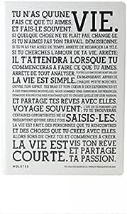 Edition Limitee Leuchtturm 1917 Manifeste de Holstee Carnet A5 Blanc