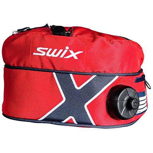 Swix Ski Gear Norge isoliert Drink Gürtel, 1-Liter, rot/blau -
