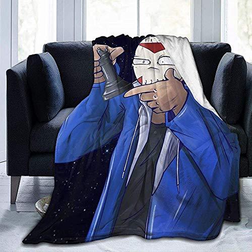 BLANKNTC Schlafsofa Couchdecke H-2O-De-li-rious AR-My Fleece Decke-Throw/Travel-Lightweight Soft-Warm Throw Blanket-Ganzjahres-Premium-Schlafdecken L