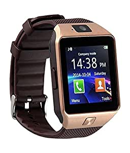 LG L65 D280 Compatible Bluetooth Smart Watch Phone With Camera and Sim Card S...Wireless Connectivity, BT Camera. Receive Notifications from Facebook, Whatsapp, QQ, WeChat, Twitter, Fitness & Activity Tracker, Time Schedule, Read Message or News, Sports, Health, Pedometer, Sedentary Remind & Sleep Monitoring. Digital Touch Screen Display, Loud Speaker, Mic & Multi-Language Support. Compatible with Tablet, PC & iOS, Android, Blackberry, Windows Phones