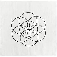 JOVIVI Gedruckte Samen des Lebens Heilige Geometrie Kristall Grid Altar Tuch Yoga Tuch 35 x 35cm preisvergleich bei billige-tabletten.eu
