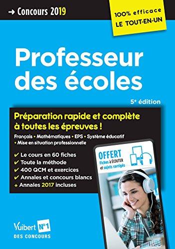 Concours Professeur des écoles (CRPE) 2019 - Préparation rapide et complète à toutes les épreuves avec 8 fiches à écouter offertes - 100 % efficace par Jean-Robert Delplace