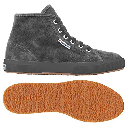 Superga 2095-Sueu, Sneaker, Unisex - adulto Full Grey Stone
