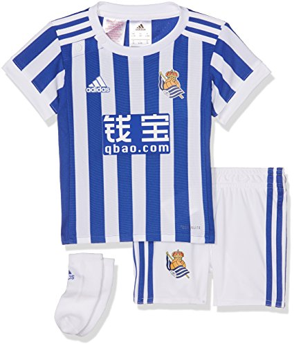 Adidas RS H Baby Conjunto, Unisex bebé, Azul (azufue), 74-6/9 Meses