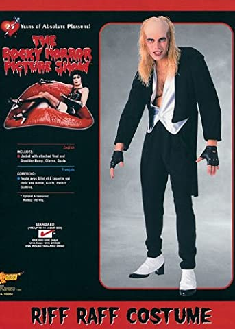 Rocky Horror Outfits - Rocky Horror Picture Show Riff Raff Costume