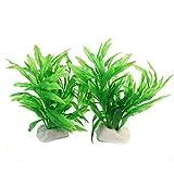Pinzhi Wasserpflanzen Aquariumpflanze Dekoration Künstliche Lotus-Pflanze Unschädlich (Style 7)