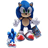 Sonic the Hedgehog 35cm X Muñeco Peluche Azul Videojuego Sega Erizo Azul Juguete Gran Calidad Super