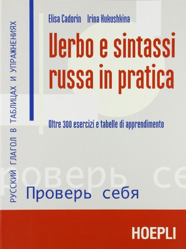 Verbo e sintassi russa in pratica ( A2,  B1 , B2 )