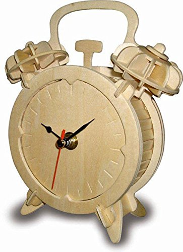 Alarm Clock - QUAY Woodcraft Construction Kit FSC