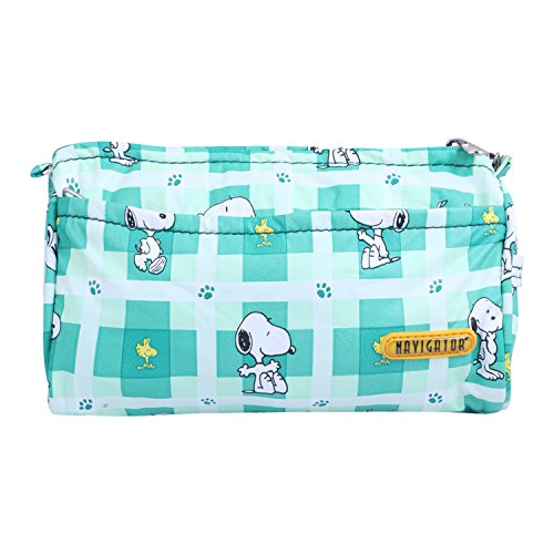 Levitas Green Color Cartoon Printed Cosmetic Pouch