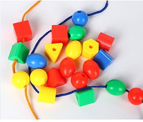 Futurekart™ Primary Lacing Beads, Multi Color