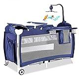 Multifunktional Kinderreisebett Crib Spielbett Tragbar Falten Mit Matratze Moskito Netz 3 Farben...