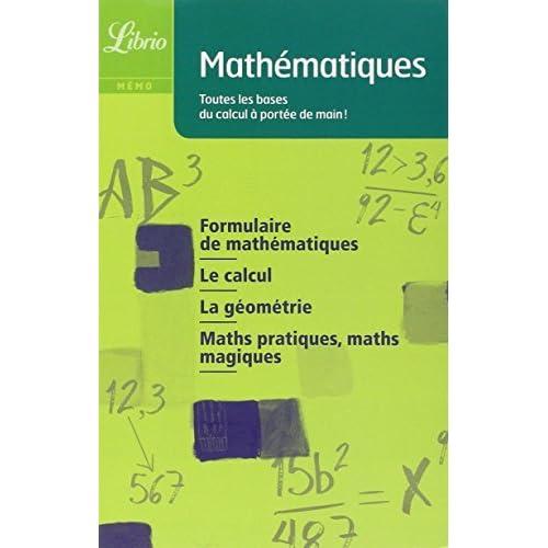 Mathématiques de Alain Gastineau (6 juillet 2007) Poche