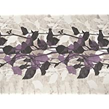 JVR Florence Funda Nórdica, Algodón-Poliéster, Morado, Individual, 240x220x3 cm