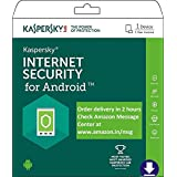 Kaspersky Internet Security for Android Latest Version- 1 Device, 1 Year (Email Delivery in 2 hours- No CD)