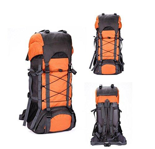 Sport Acquatici Resistenti All'acqua Viaggiare Zaini Zaini Trekking,Black Orange